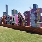 Polystyrene Brisbane Sign - G20 World Leaders Summit, Southbank, Brisbane