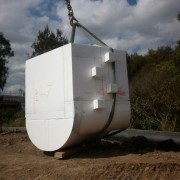 Concrete Pit Mould - Part of the Dinmore to Goodna Pipe & Drainage Up-grade after the floods of Brisbane.