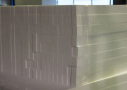 Polystyrene packaging sheets by Polystyrene Products, Queensland