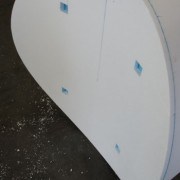 Polystyrene Pipe Cutout